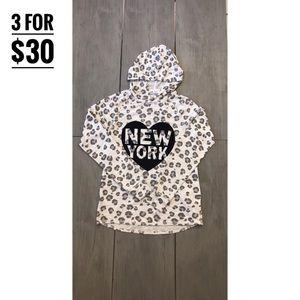 H & M leopard print long sleeved 🖤New York